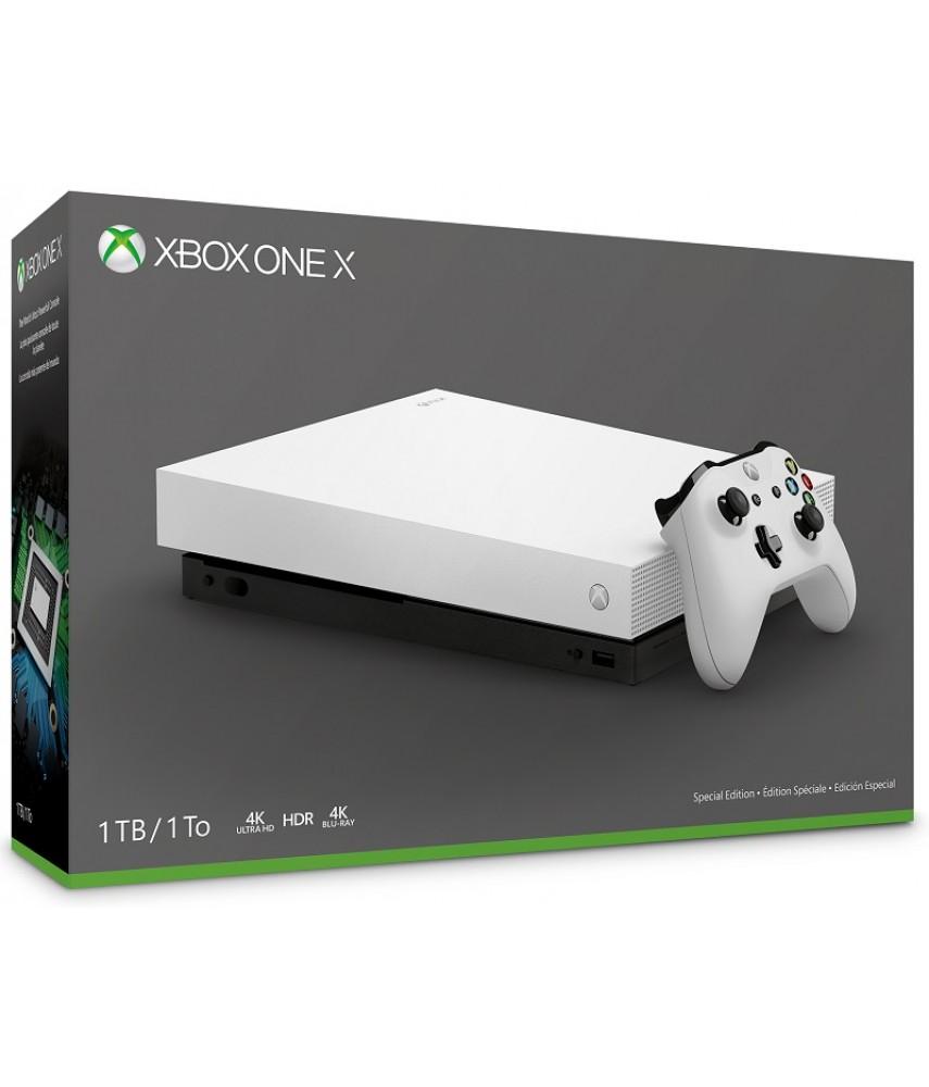 Xbox One X 1Tb (Белый)