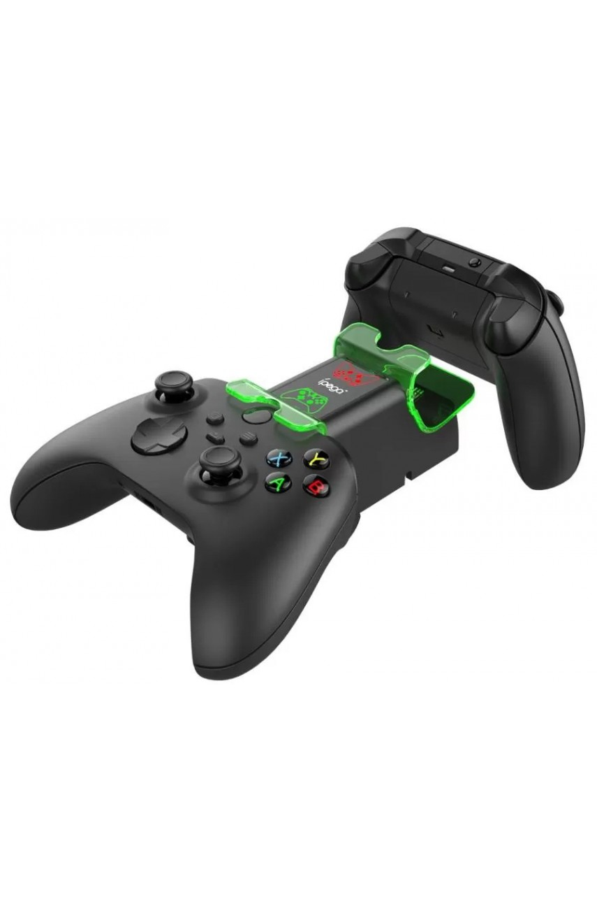 Зарядная станция для геймпадов Xbox Series X|S + 2 аккумулятора 1000 mAh (iPega PG-XBX003)