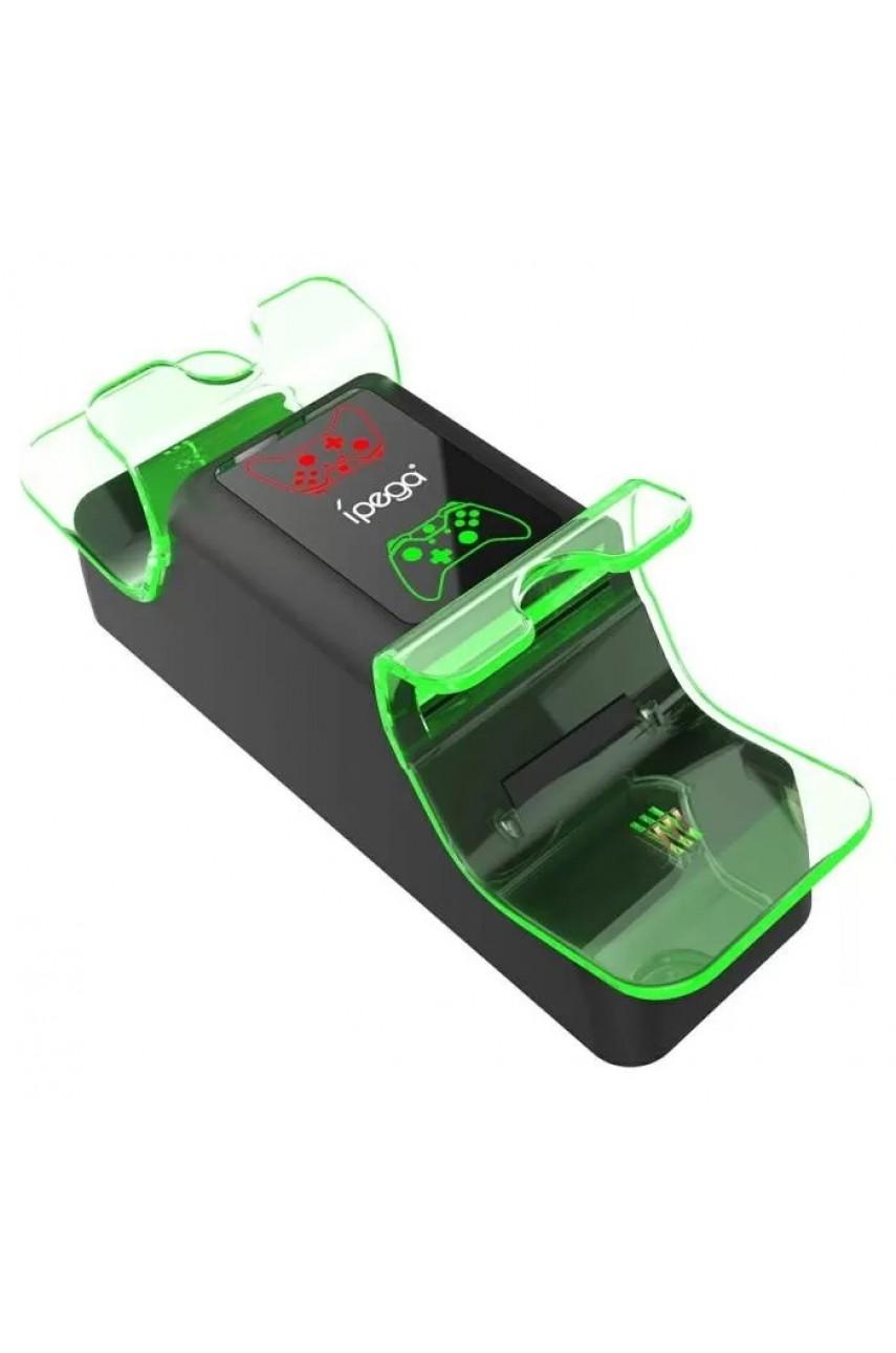 Зарядная станция для Xbox Series X/S + 2 аккумулятора 1000 mAh (iPega PG-XBX003)